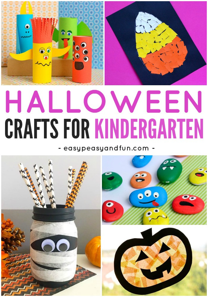 Best ideas about Fun Craft For Preschoolers . Save or Pin Halloween Crafts for Kindergarten Easy Peasy and Fun Now.