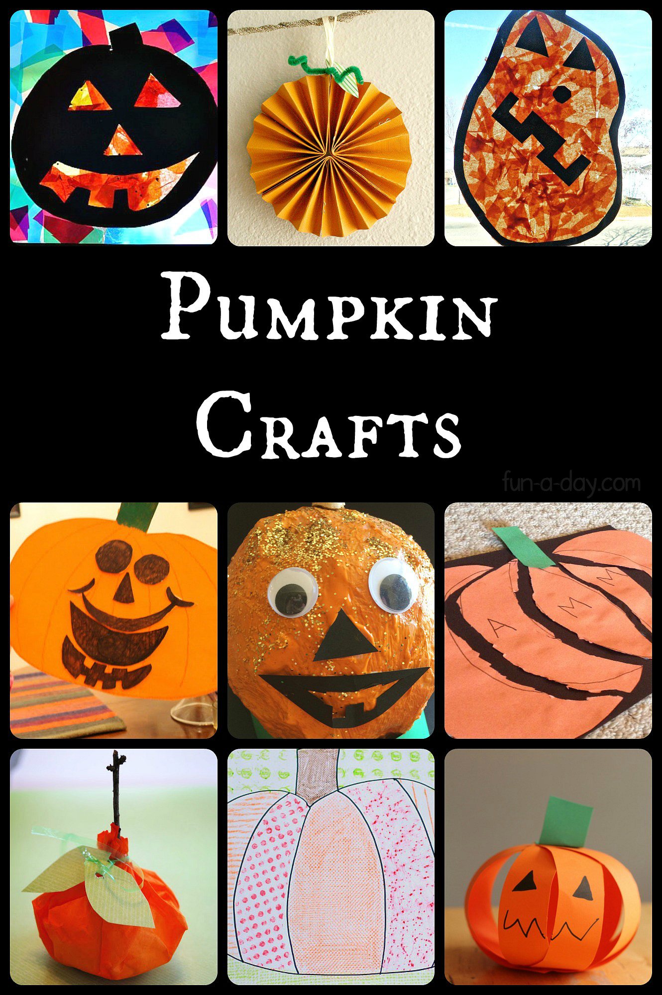 Best ideas about Fun Craft For Preschoolers . Save or Pin 15 Paper Pumpkin Crafts for Preschoolers Now.