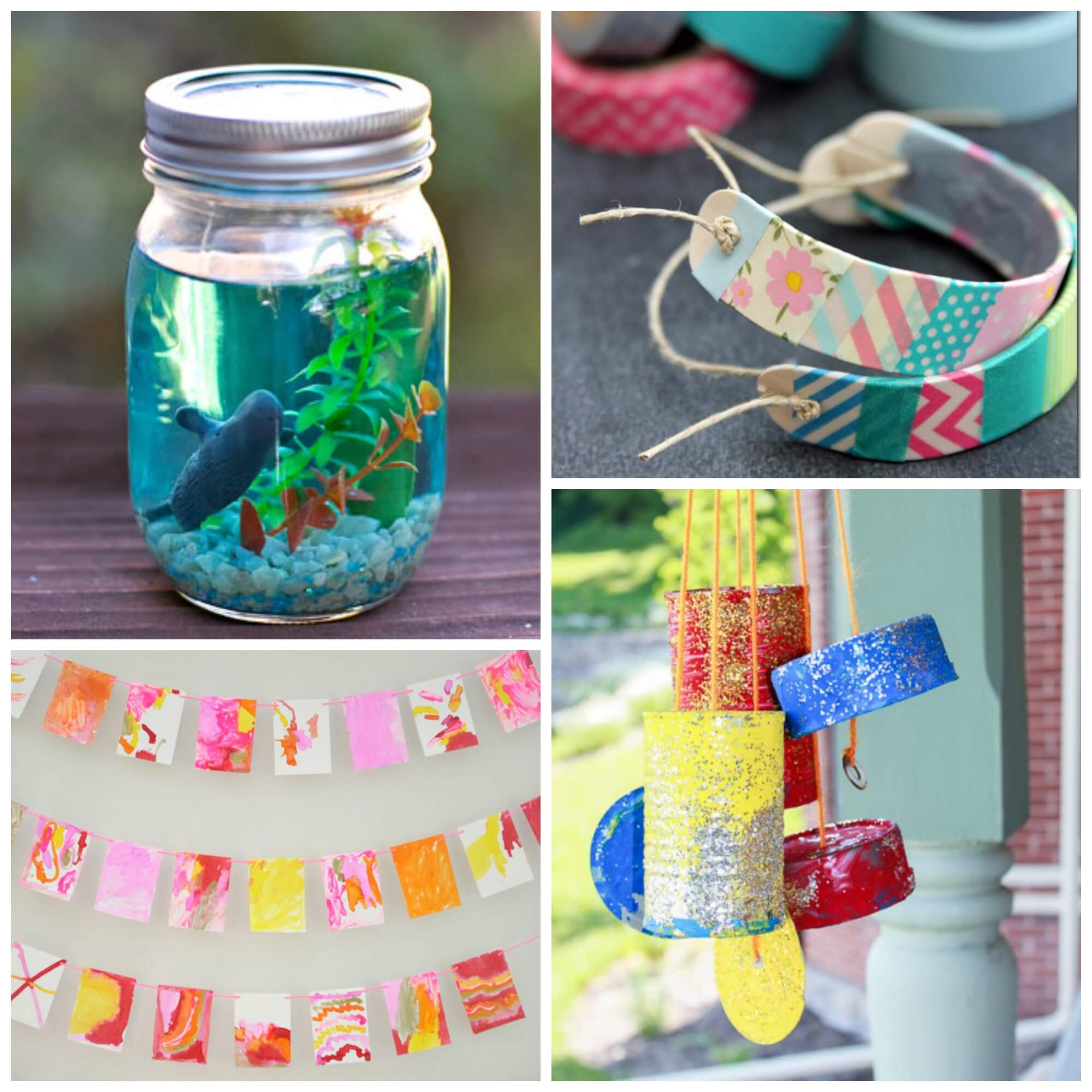 Best ideas about Fun Craft Ideas For Kids . Save or Pin 15 Arts and Crafts for Kids Playdough To Plato Now.