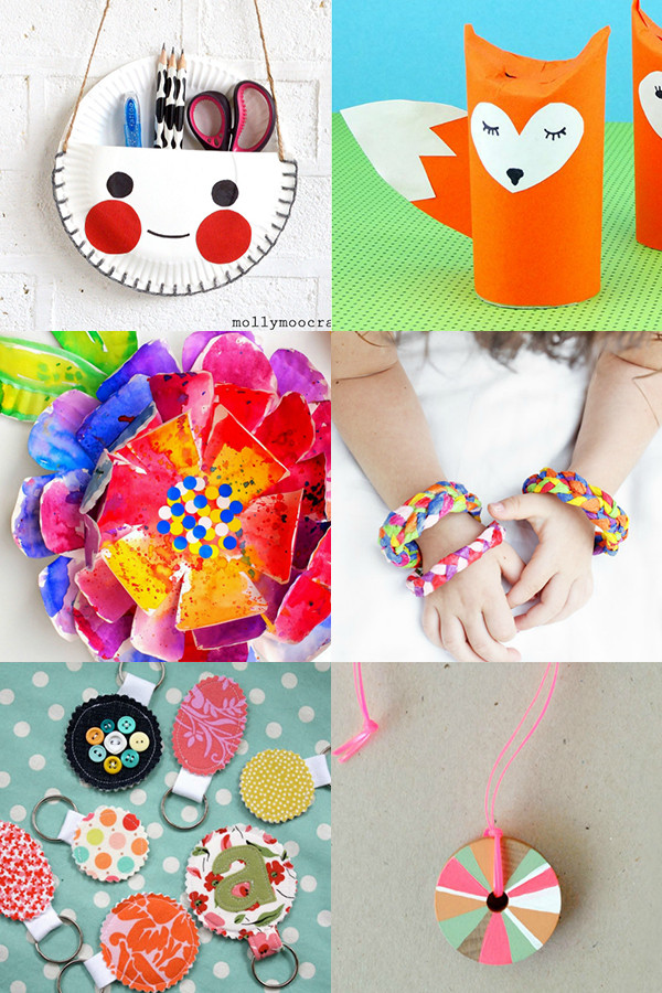 Best ideas about Fun Craft Ideas For Kids . Save or Pin Summer holiday Rainy day crafts for kids Mollie Makes Now.