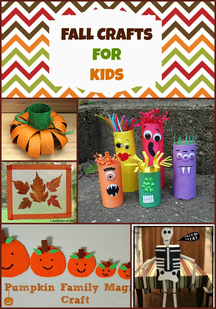 Best ideas about Fun Crafts For Kids . Save or Pin 15 Fall Crafts for Kids BargainBriana Now.