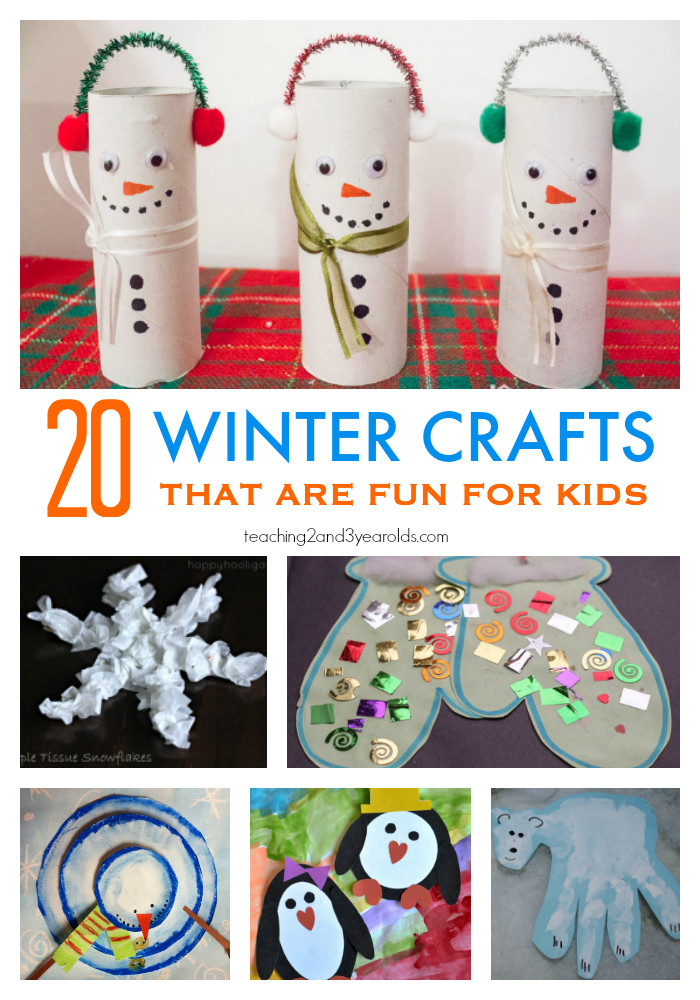 Best ideas about Fun Crafts For Preschoolers . Save or Pin 20 Fun Preschool Winter Crafts Now.