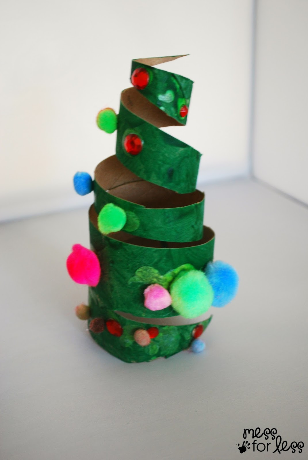 Best ideas about Fun Easy Kids Craft . Save or Pin Christmas Crafts for Kids Cardboard Tube Christmas Tree Now.