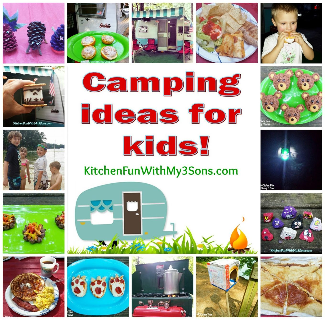Best ideas about Fun Ideas For Kids . Save or Pin Camping fun food & craft ideas for kids and our McKinney Now.