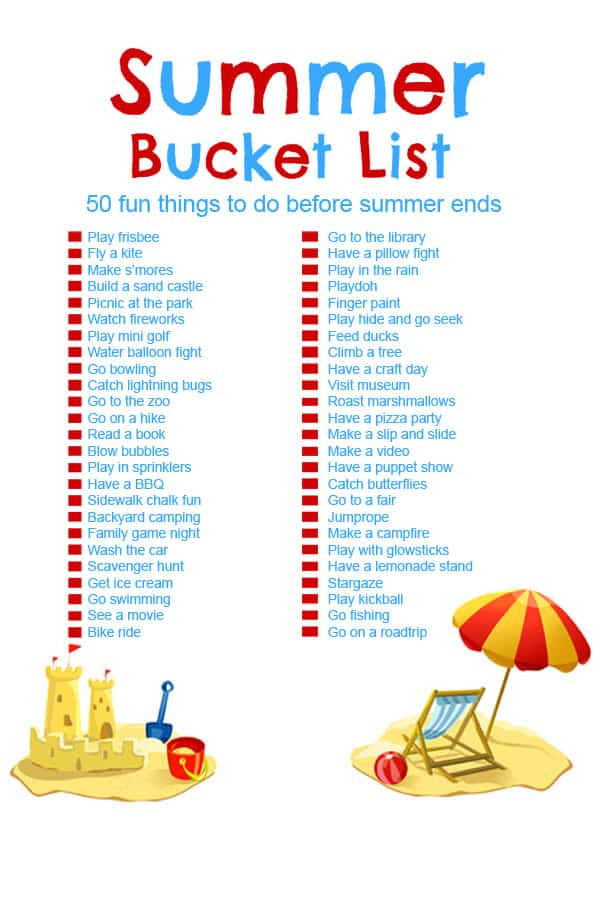 Best ideas about Fun Ideas For Kids . Save or Pin Summer Bucket List 50 Fun Activities for Kids CincyShopper Now.
