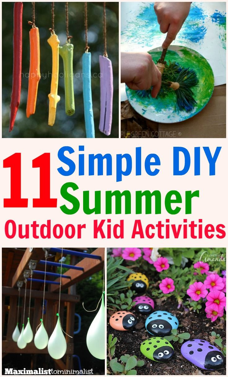 Best ideas about Fun Ideas For Kids . Save or Pin 11 Kid s Outdoor Activities That Are Simple Frugal and Now.