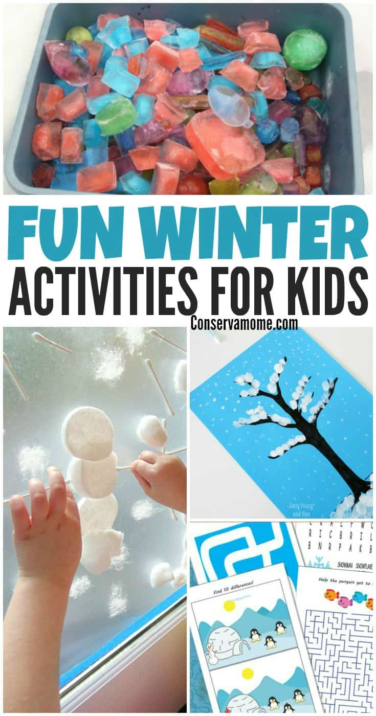 Best ideas about Fun Ideas For Kids . Save or Pin Fun Winter Activities for Kids ConservaMom Now.