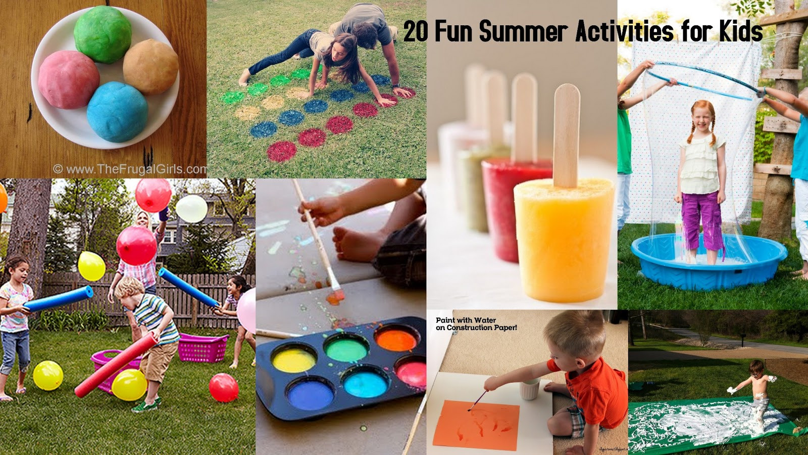 Best ideas about Fun Ideas For Kids . Save or Pin 20 Fun Summer Activities for Kids I Dig Pinterest Now.