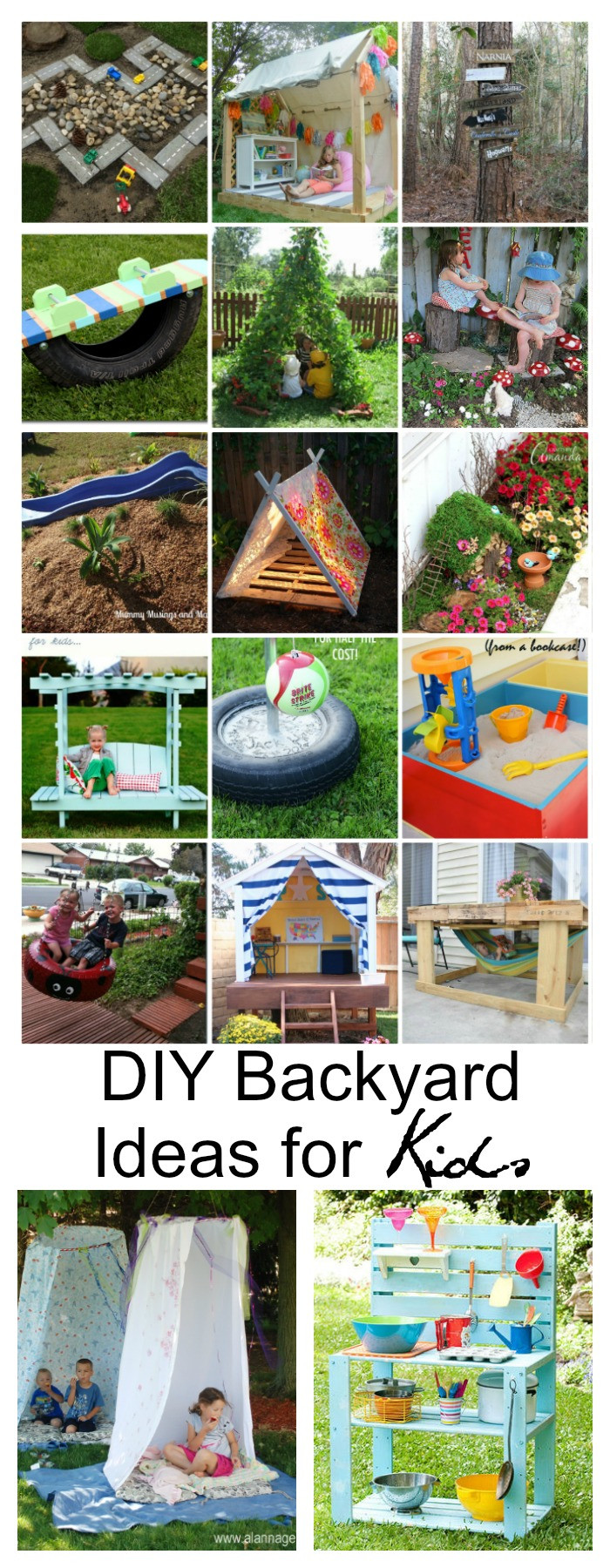 Best ideas about Fun Ideas For Kids . Save or Pin DIY Backyard Ideas for Kids The Idea Room Now.