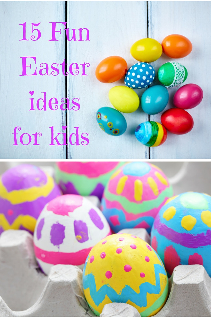 Best ideas about Fun Ideas For Kids . Save or Pin 15 fun Easter ideas for kids A Fresh Start on a Bud Now.