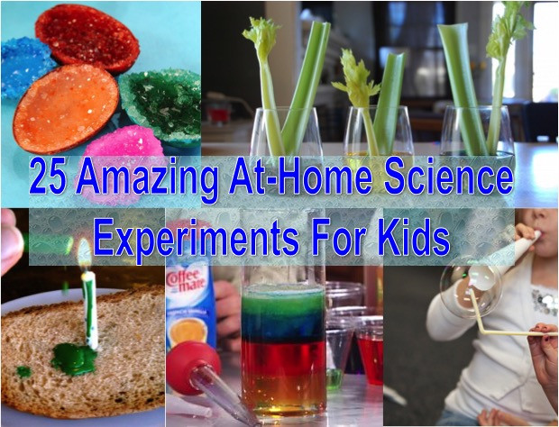 Best ideas about Fun Projects For Kids To Do At Home . Save or Pin 25 Amazing At Home Science Experiments For Kids Find Fun Now.