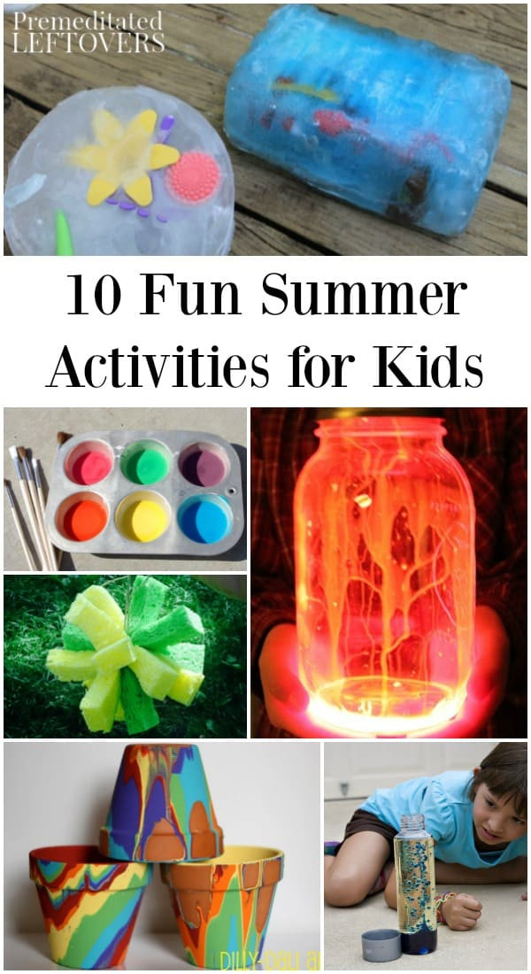 Best ideas about Fun Projects For Kids To Do At Home . Save or Pin 10 Fun Summer Activities to Do at Home to Keep Kids Busy Now.