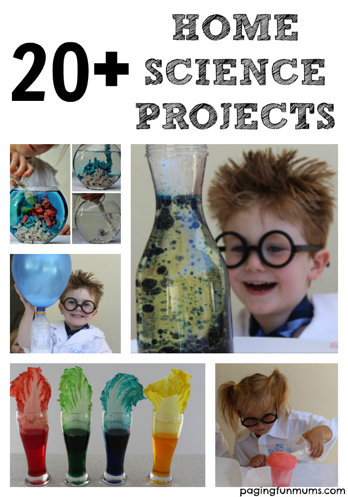 Best ideas about Fun Projects For Kids To Do At Home . Save or Pin 20 Home Science Projects for Kids Paging Fun Mums Now.