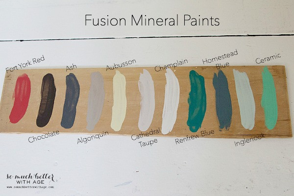 Best ideas about Fusion Mineral Paint Colors . Save or Pin Little French Wooden Caddy Now.