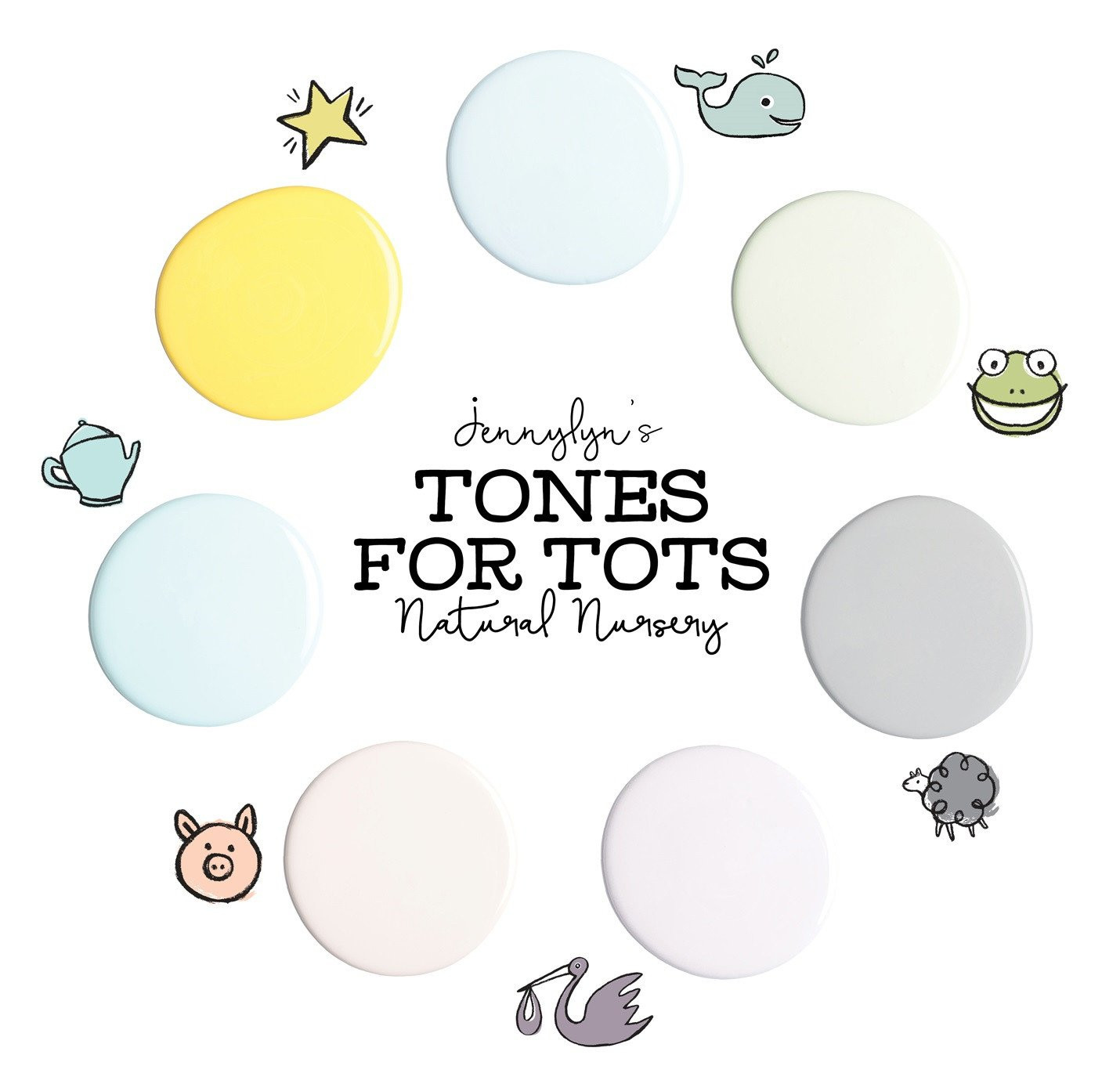 Best ideas about Fusion Mineral Paint Colors . Save or Pin Little Whale Fusion Mineral Paint Tones for Tots Now.