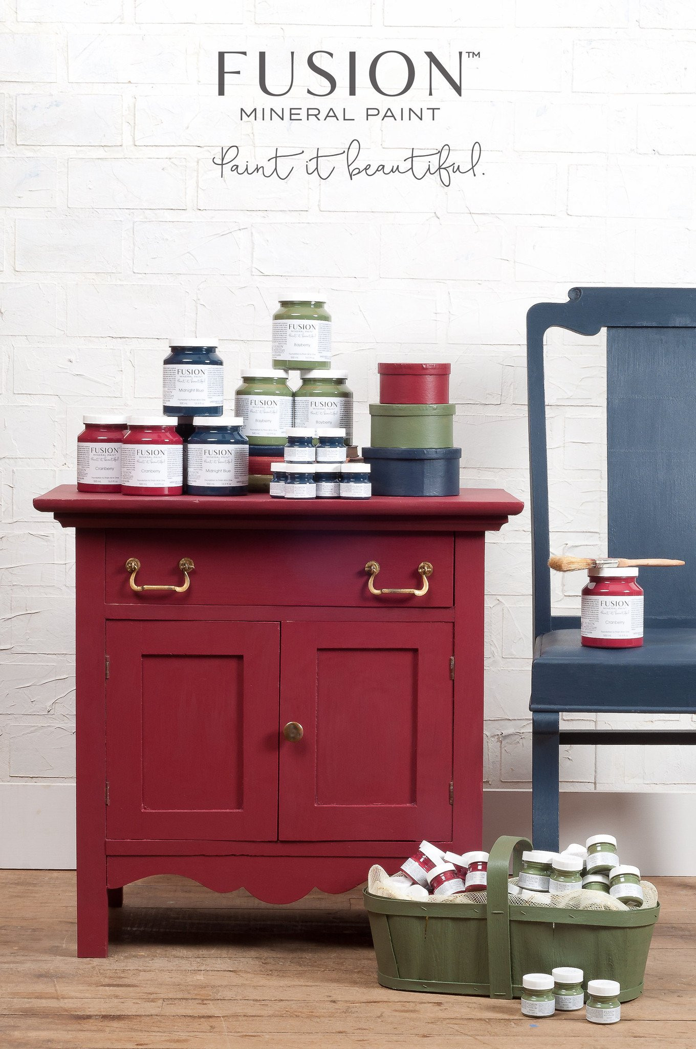 Best ideas about Fusion Mineral Paint Colors . Save or Pin Cranberry Fusion Mineral Paint Buy line Flat Rate Now.