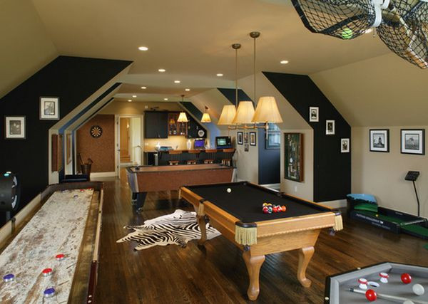 Best ideas about Game Room Colors . Save or Pin Game And Entertainment Rooms Featuring Witty Design Ideas Now.