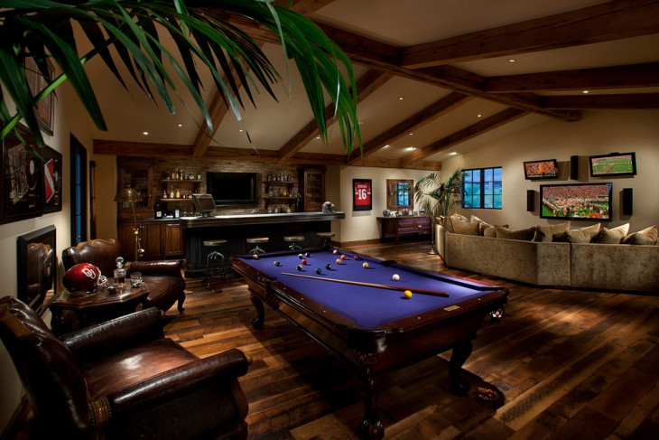 Best ideas about Game Room Colors . Save or Pin 20 Basement Game Room Designs Ideas Now.