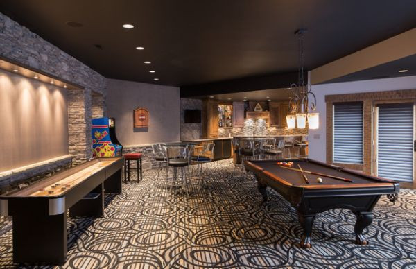 Best ideas about Game Room Colors . Save or Pin Indulge Your Playful Spirit with These Game Room Ideas Now.