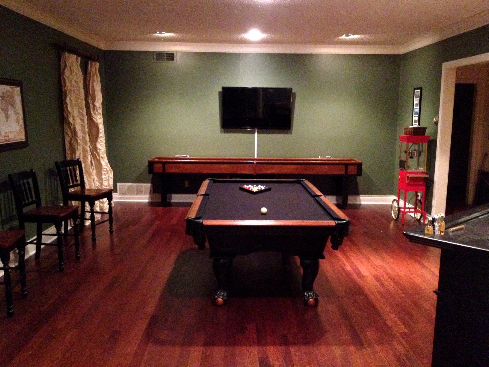 Best ideas about Game Room Colors . Save or Pin It s my life The Game Room Transformation Now.
