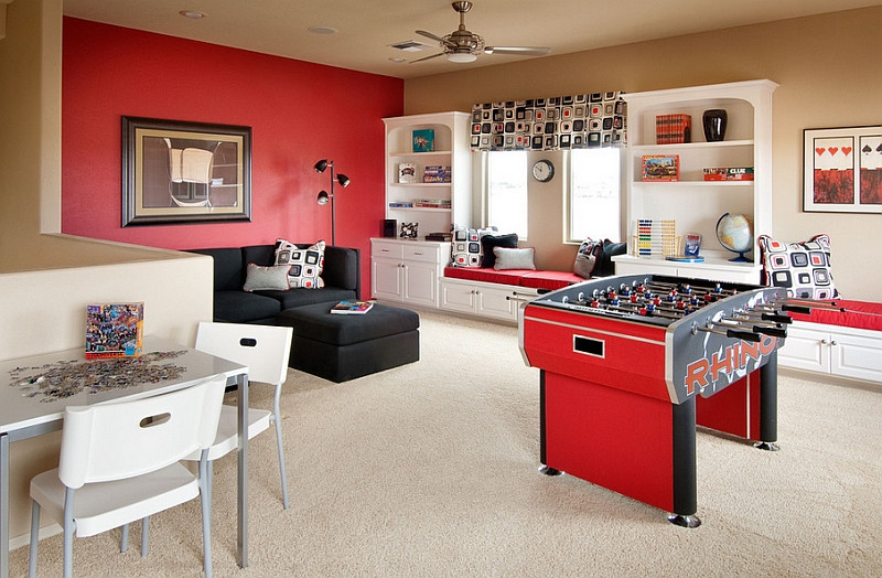 Best ideas about Game Room Colors . Save or Pin How To Transform Your Attic Into A Fun Game Room Now.