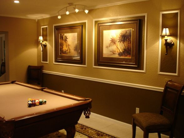Best ideas about Game Room Colors . Save or Pin 1000 ideas about Pool Table Room on Pinterest Now.