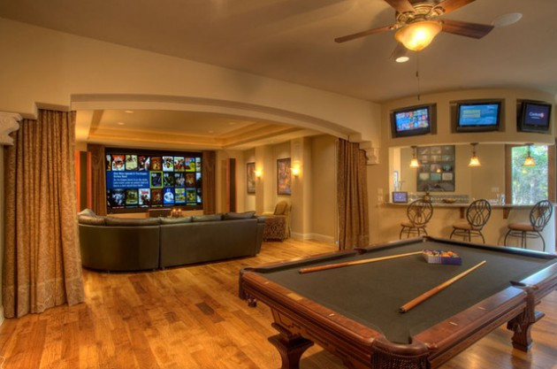 Best ideas about Game Room Colors . Save or Pin 30 Trendy Billiard Room Design Ideas Now.