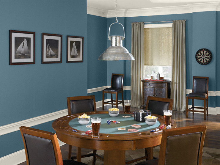 Best ideas about Game Room Colors . Save or Pin Colorfully BEHR Ask A Color Expert The Game Room Now.
