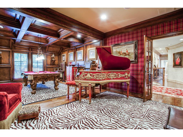 Best ideas about Game Room In Spanish . Save or Pin Opulent English Tudor in Spanish Oaks Estates is Perfect Now.