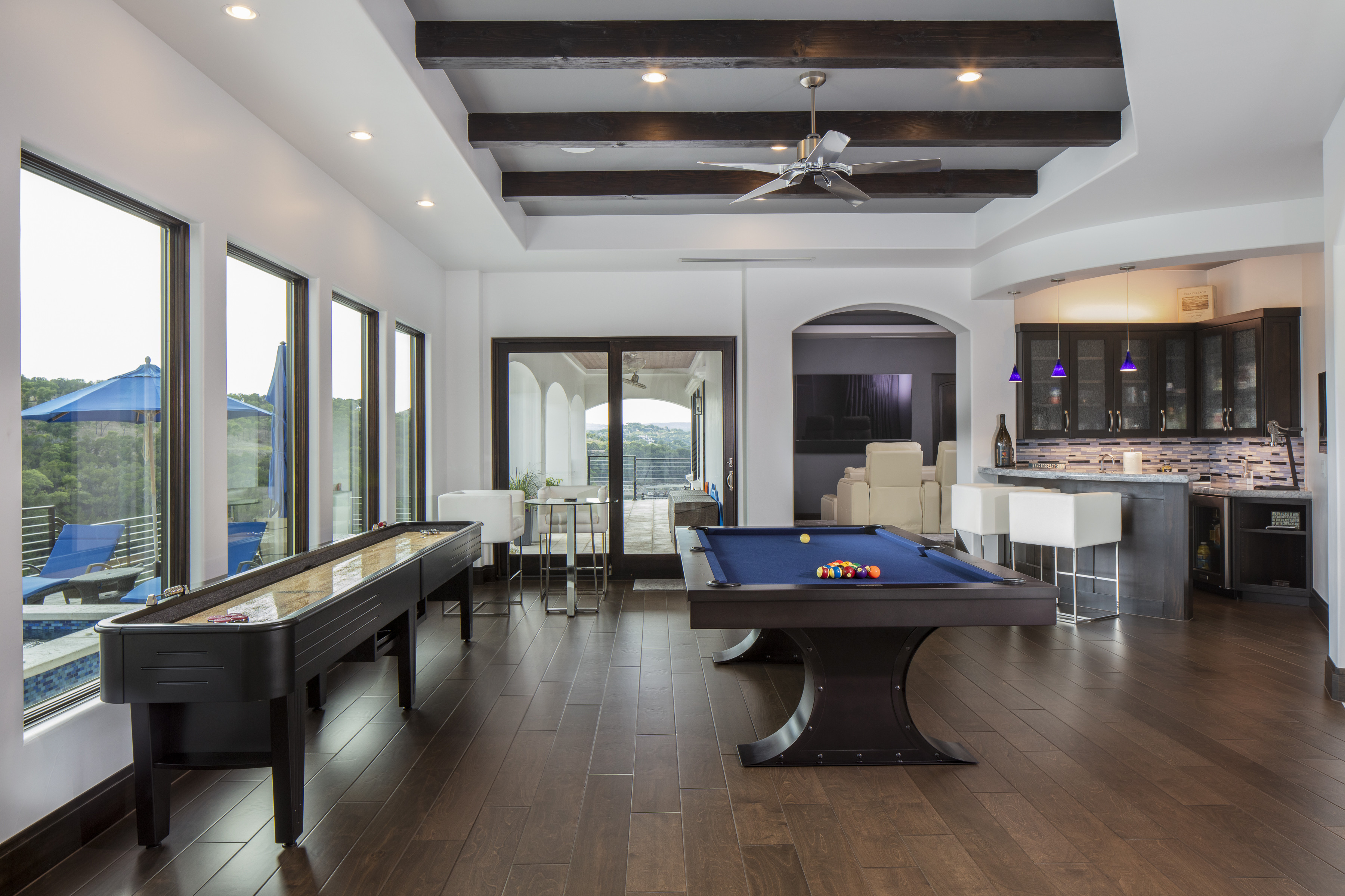 Best ideas about Game Room In Spanish . Save or Pin Spanish Modern Lakehouse 6879 Sterling Custom Homes Now.