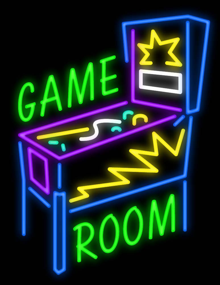 Best ideas about Game Room Neon Sign . Save or Pin Buy online Neon Sign For Game Room Now.