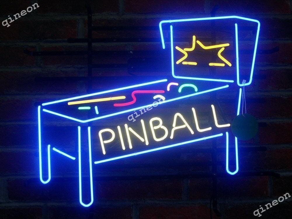 Best ideas about Game Room Neon Sign . Save or Pin Pinball Machine Wall Decor Neon Light Sign Arcade Now.