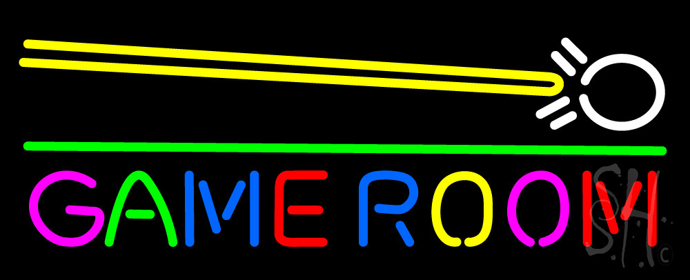 Best ideas about Game Room Neon Sign . Save or Pin Game Room Cue Stick Neon Sign Games Neon Signs Every Now.