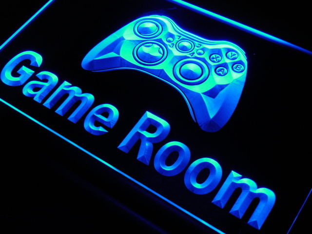 Best ideas about Game Room Neon Sign . Save or Pin j984 b Game Room Console Neon Light Sign Now.