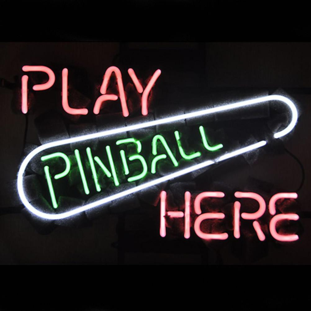 Best ideas about Game Room Neon Sign . Save or Pin Professional Play Pinball Here Game Room Beer Bar Neon Now.