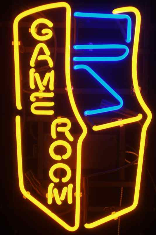 Best ideas about Game Room Neon Sign . Save or Pin Awesome Neon Game Room Signs Now.