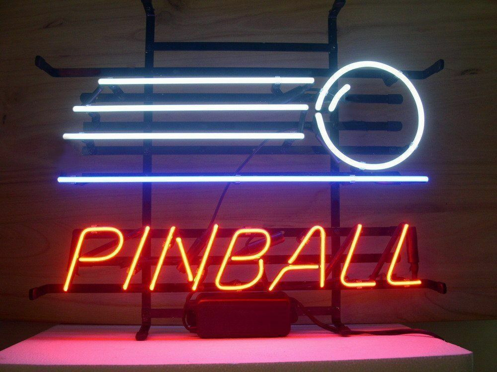 Best ideas about Game Room Neon Sign . Save or Pin New Pinball Game Arcade Game Room Neon Light Sign 20 x16 Now.