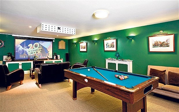 Best ideas about Game Room Pictures . Save or Pin For sale Homes with a games room Telegraph Now.