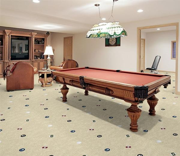 Best ideas about Game Room Rugs . Save or Pin Open Table Game Room Carpet Stargate Cinema Now.