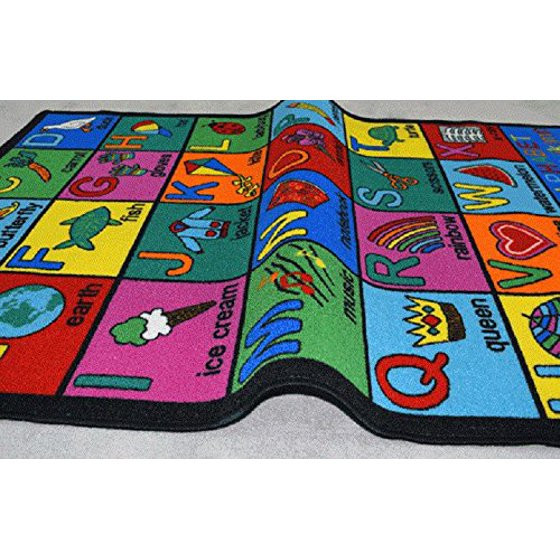 Best ideas about Game Room Rugs . Save or Pin Area Rug Kids Room Play and Learn Carpet Learning Design Now.