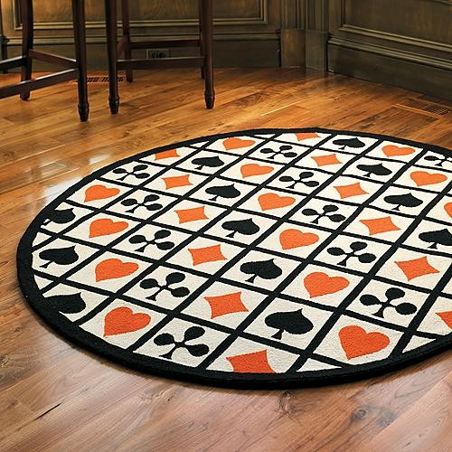 Best ideas about Game Room Rugs . Save or Pin Poker Game Room Rug Traditional Rugs by FRONTGATE Now.