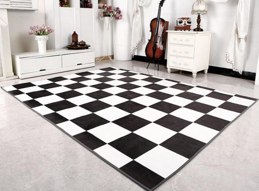 Best ideas about Game Room Rugs . Save or Pin Chess Rug Floor Big Size Carpet Game Players Room Decor Now.