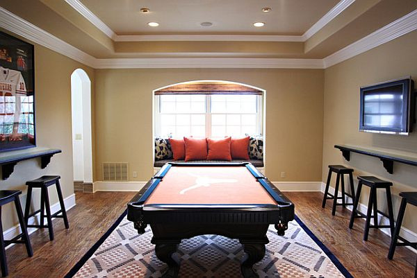 Best ideas about Game Room Seating . Save or Pin Rec Room Design Ideas For Some Fancy Time at Home Now.