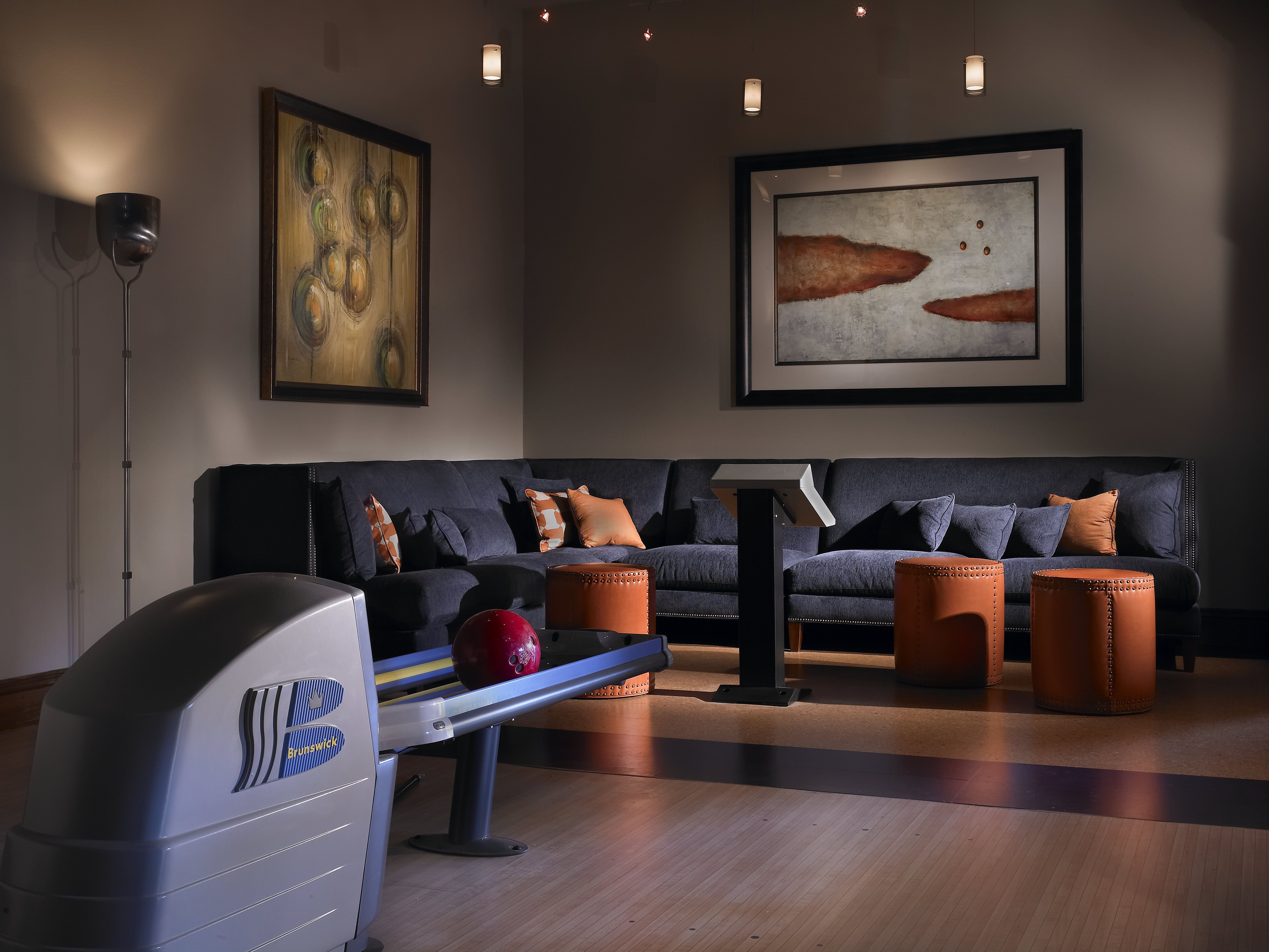 Best ideas about Game Room Seating . Save or Pin Game Room Seating Anne Rue Interiors Work Now.