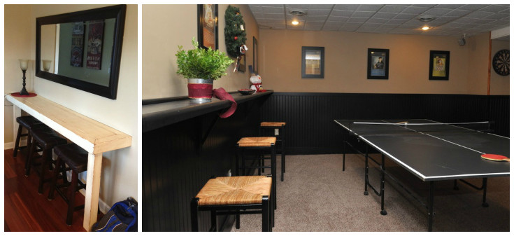 Best ideas about Game Room Seating . Save or Pin Games Room Ideas for the Average Home Frances Hunt Now.