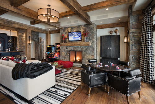 Best ideas about Game Room Seating . Save or Pin Eclectic Family Room · More Info Now.