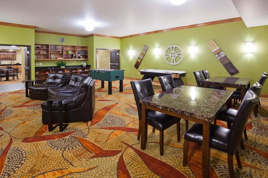 Best ideas about Game Room Seating . Save or Pin Game Room Foosball and Air Hockey Picture of Expressway Now.