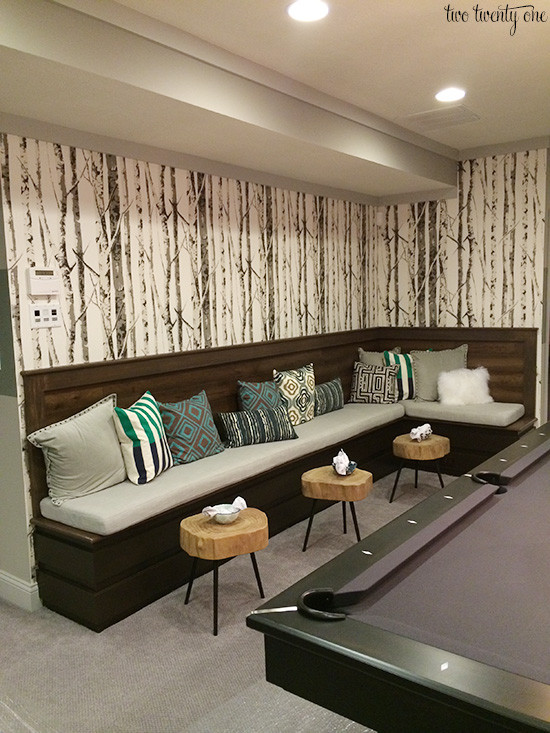 Best ideas about Game Room Seating . Save or Pin Home A Rama Part Two Now.
