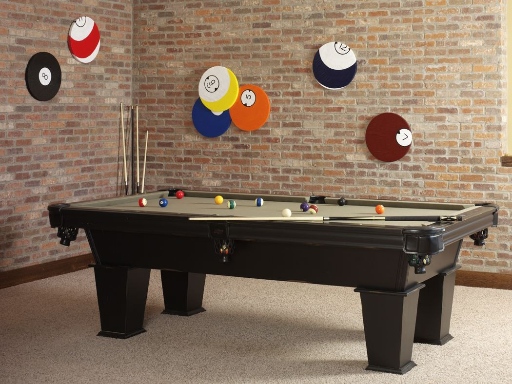 Best ideas about Game Room Table . Save or Pin Floracraft Billiard Ball Wall Art wallart diy Now.
