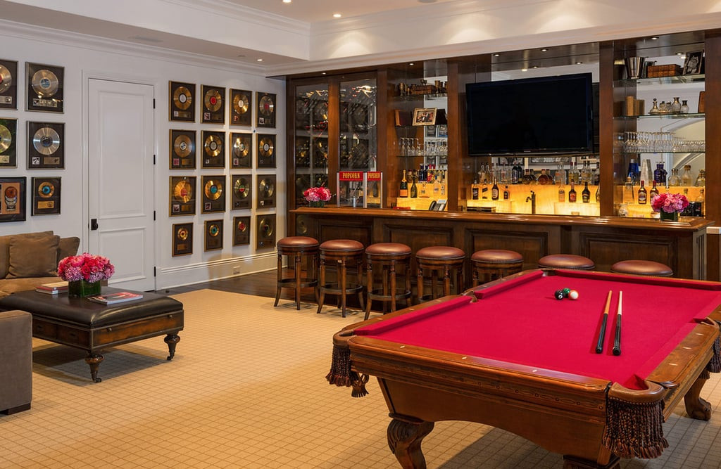 Best ideas about Game Room Table . Save or Pin Real Housewives Malibu House Yolanda Foster Now.